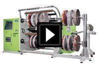 800 Rewind Slitter Rewinder Video