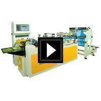 Center Seal Bag Making Machine Video