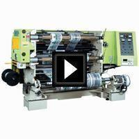 Slitting Machine Video