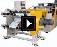 Pouch Making Machine For Sterilized Reel Pouch Video