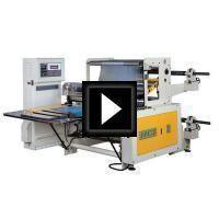 Servo Sheeting Machine Video