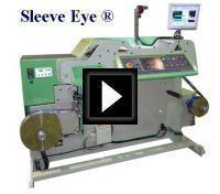 Shrink Sleeve Width Measuring System Video