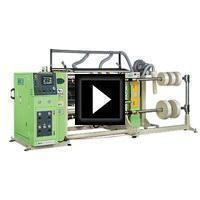 Slitter Rewinder Video