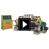Surface Winding Slitting Machine Video