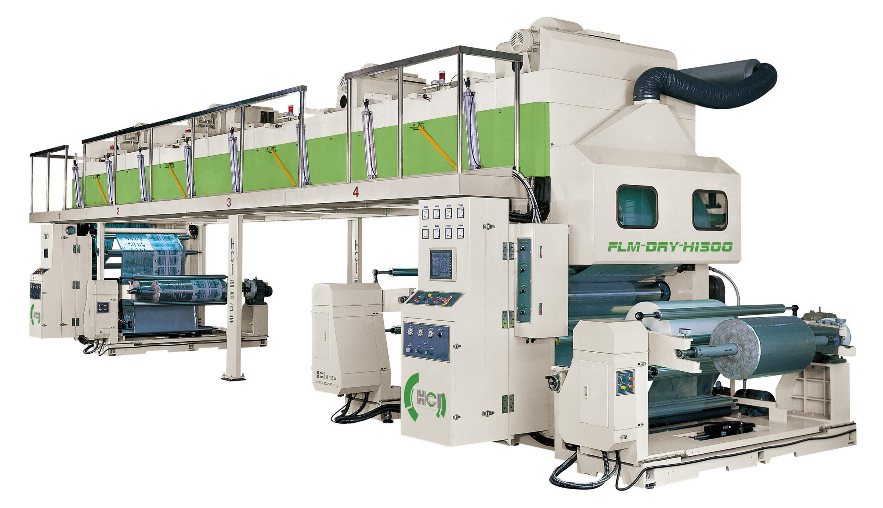 Dry Laminating Machine Flm Dry Hci Converting Equipment
