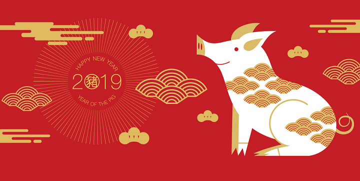 HCI Wish You a Happy New Year of 2019 Year Of Pig